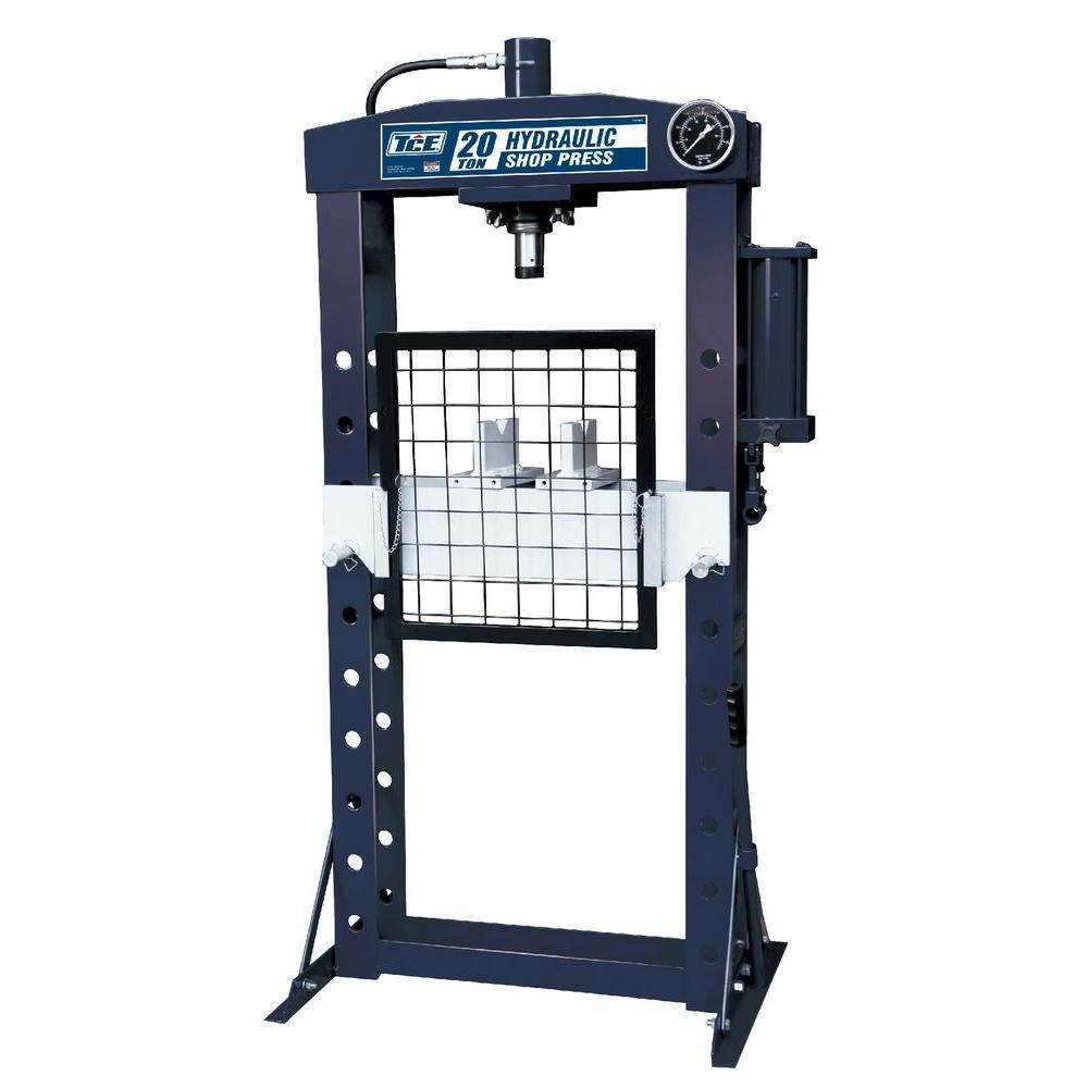 TCE 20-Ton Shop Press