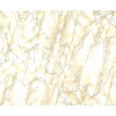 Beige Marble Faux Materials Adhesive Film (Set of 2)