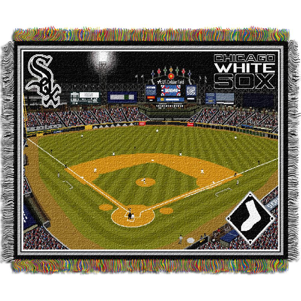 Cellular Field Multi Color Stadium Tapestry throw