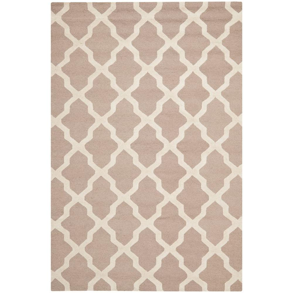 Cambridge Beige/Ivory 10 ft. x 14 ft. Area Rug