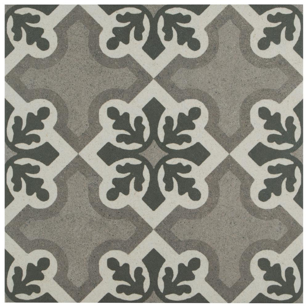 Merola Tile Vintage Ruzafa Encaustic 9-3/4 in. x 9-3/4 in. Porcelain Floor and Wall Tile (11.11 sq. ft. / case)