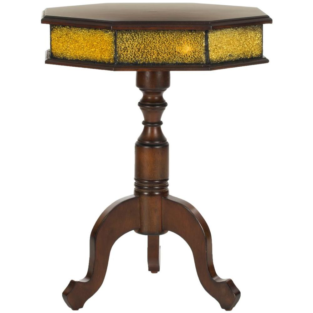 Daphne Dark Brown Side Table