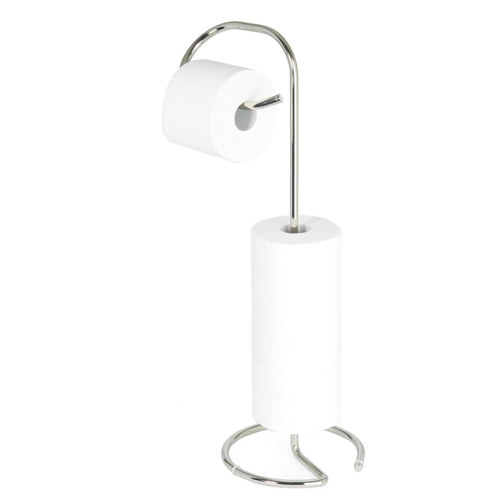 Better Living Loo Toilet Caddy in Polished Nickel