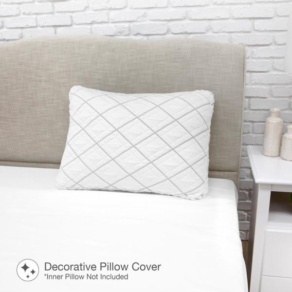 SensorPEDIC Premier Knit Luxury Standard Pillow Cover 20004