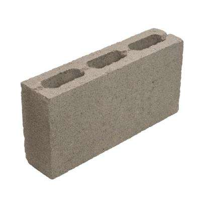 4 in x 8 in x 16 in Normal Weight Concrete Block Hollow