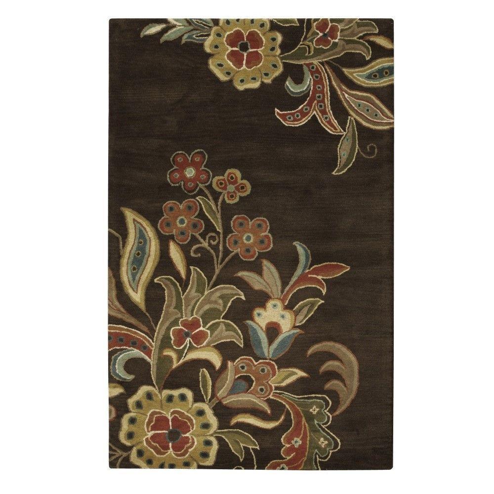 Home Decorators Collection Tara Chocolate 8 Ft X 11 Ft