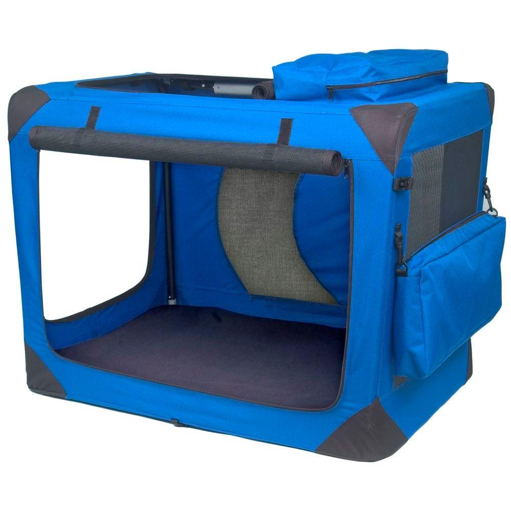 Generation II 35.75 in. x 23.5 in. x 27 in. Deluxe Portable Soft Crate