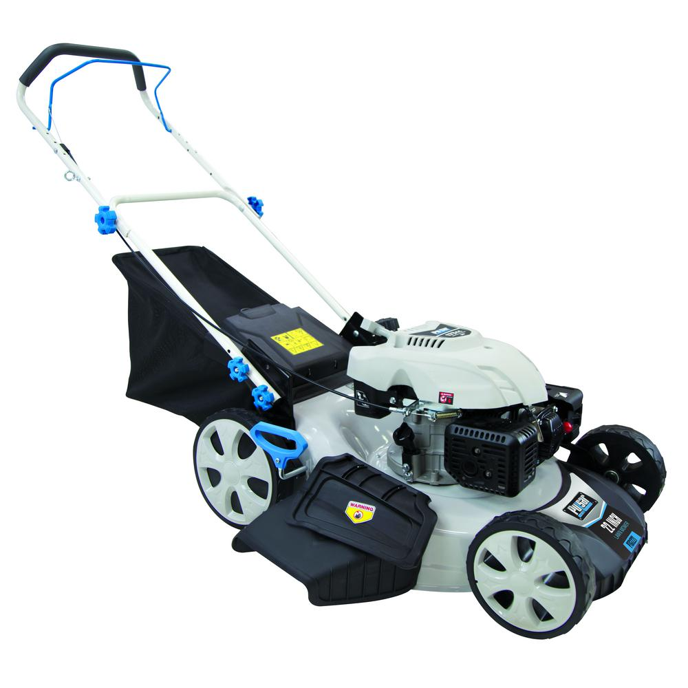Pulsar 21 in. 173 cc Gas Recoil Start Walk Behind Push Mower with 7 Position Height Adjustment