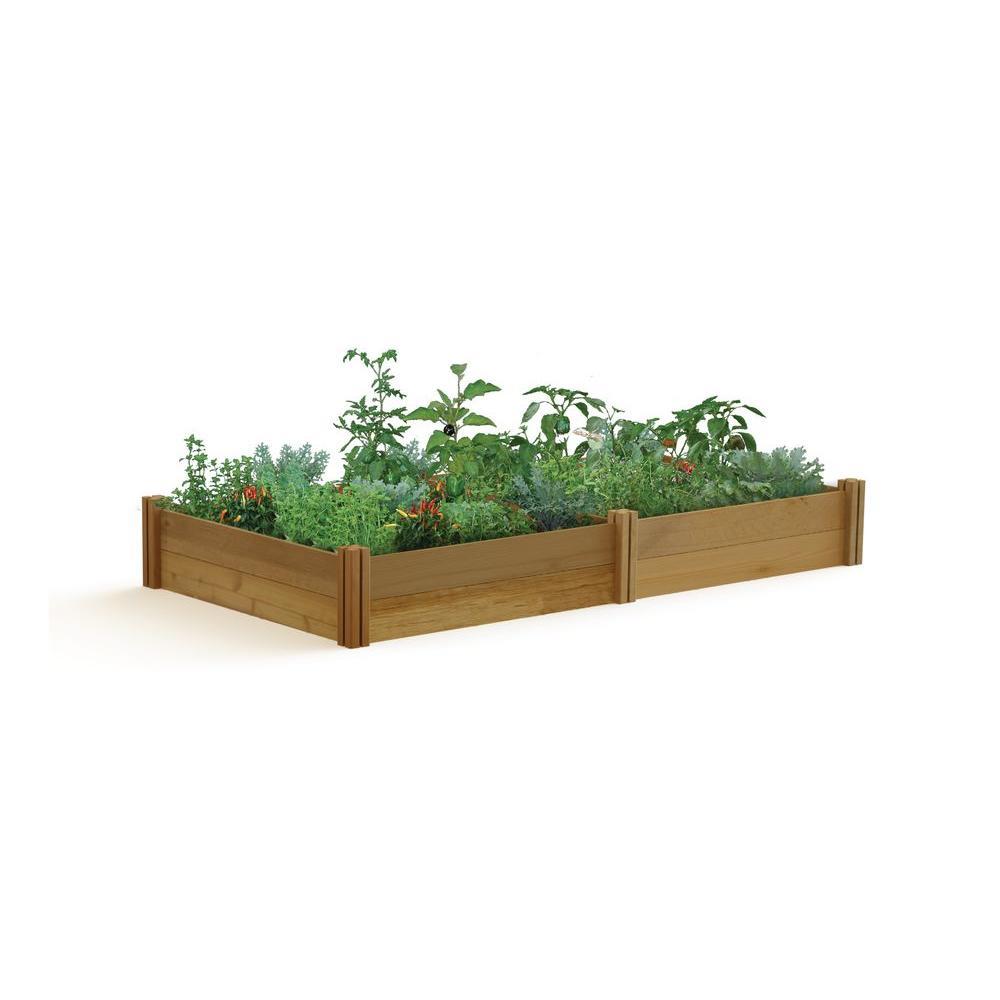 48 in. x 95 in. x 13 in. Modular Raised Garden Bed