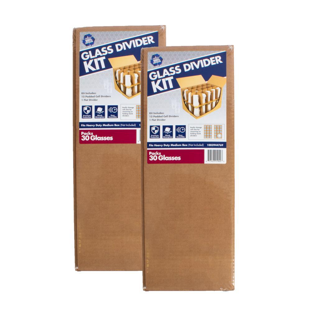 Glass Divider Moving Kit (2-Pack)