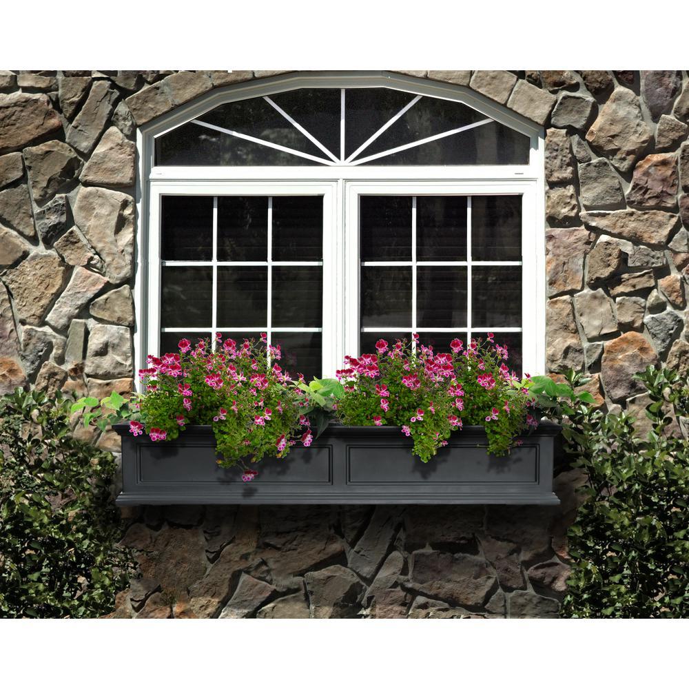 Fairfield 11 in. x 60 in. Plastic Window Box