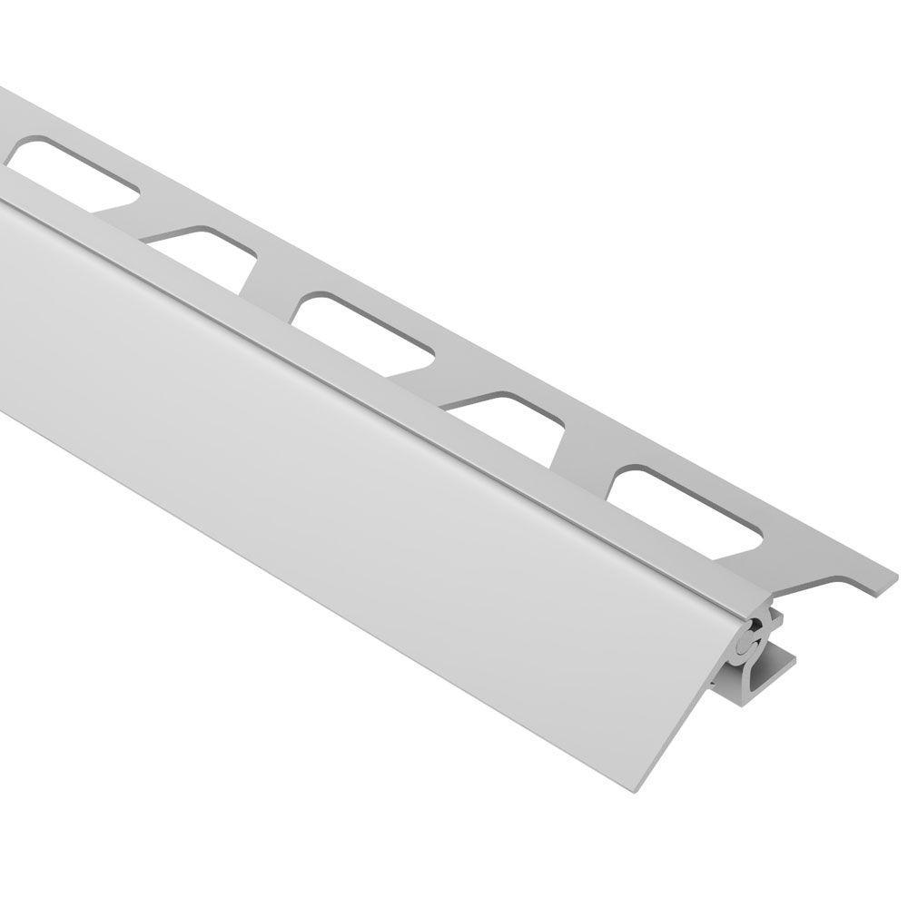 Schluter Reno-V Satin Anodized Aluminum 3/4 In. X 8 Ft. 2
