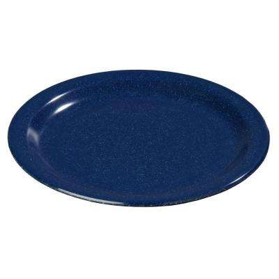 9 in. Diameter Melamine Dinner Plate in Cafe Blue (Case of 48)