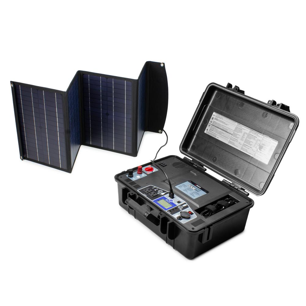 Lead Acid Battery >> Wagan Tech 800 Watt 12 Volt Solar Ecase Generator Lead Acid Battery Charger