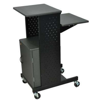 40 Mobile Presentation Cabinet Cart