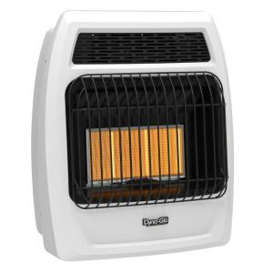 18,000 BTU Vent Free Infrared Liquid Propane Thermostatic Wall Heater