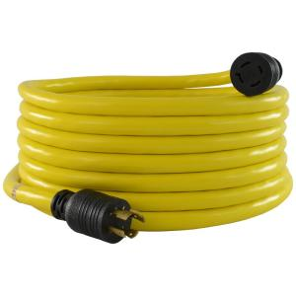 25 ft. 10/4 STW L14-20 20 Amp 125/250-Volt Generator Extension Cord