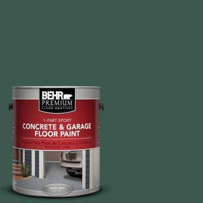 1 gal. #PFC-45 Patio Green 1-Part Epoxy Concrete and Garage Floor Paint