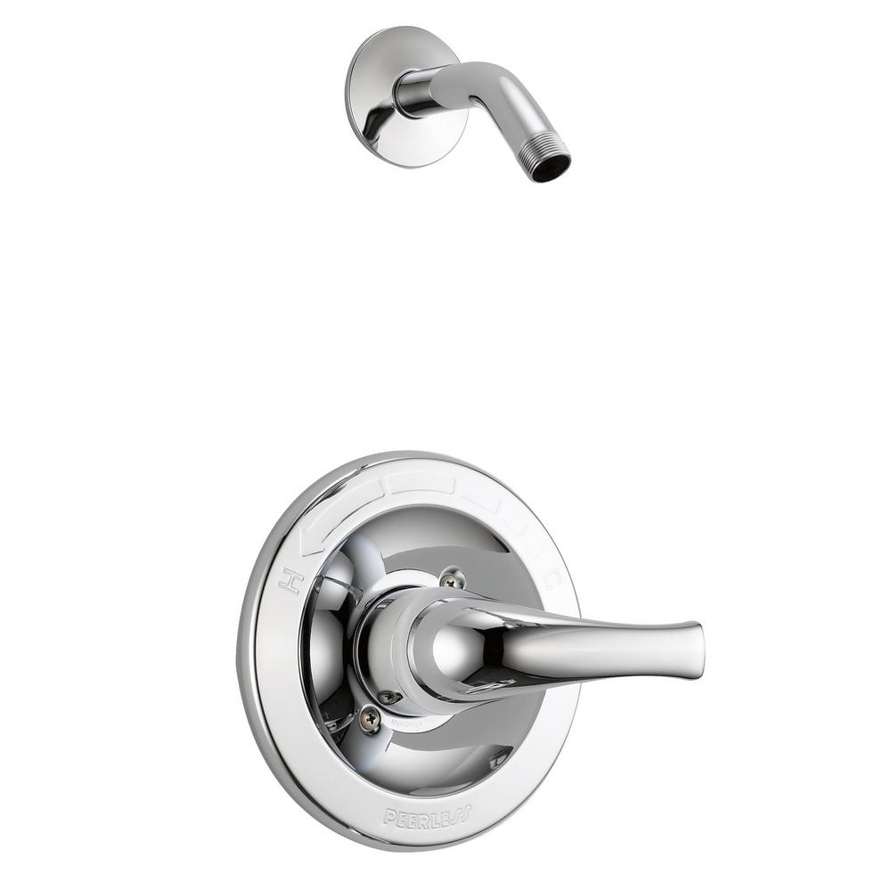 Tunbridge 1-Handle Wall-Mount Shower Faucet Trim Kit in Chrome (Valve and Showerhead Not Included)