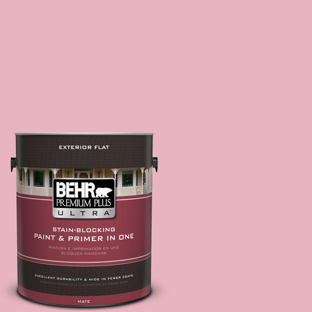 1-gal. #M140-3 Premium Pink Flat Exterior Paint