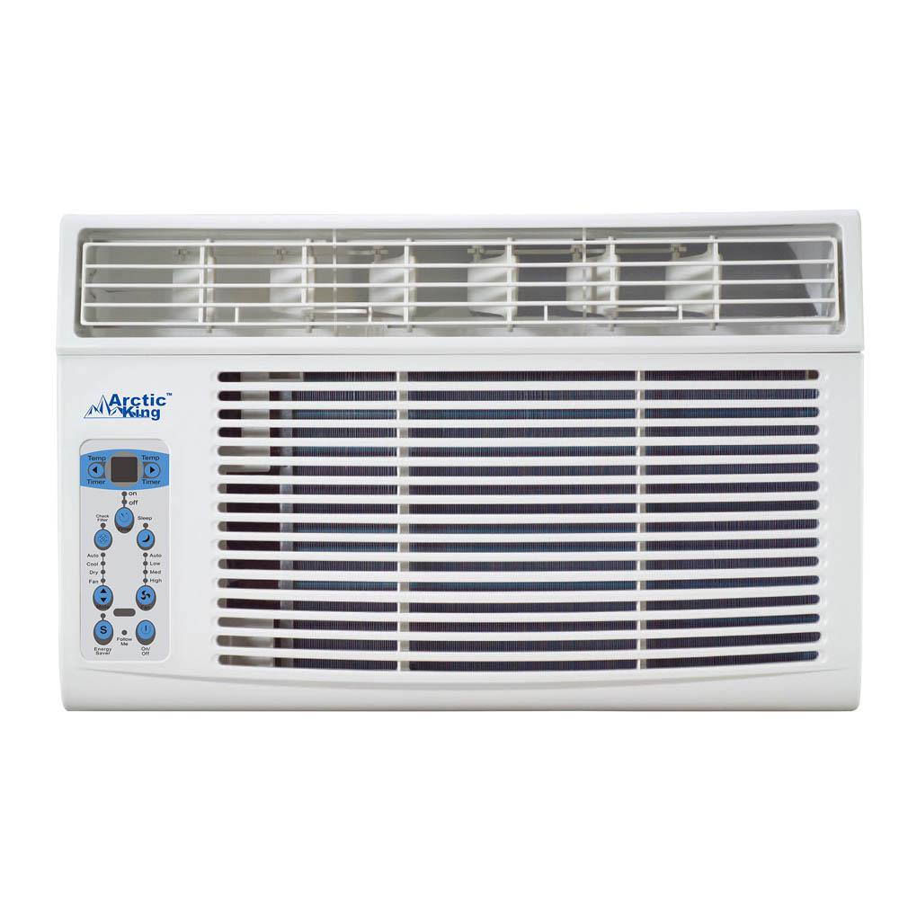8,000 BTU 115-Volt Through-the-Wall Air Conditioner and Remote