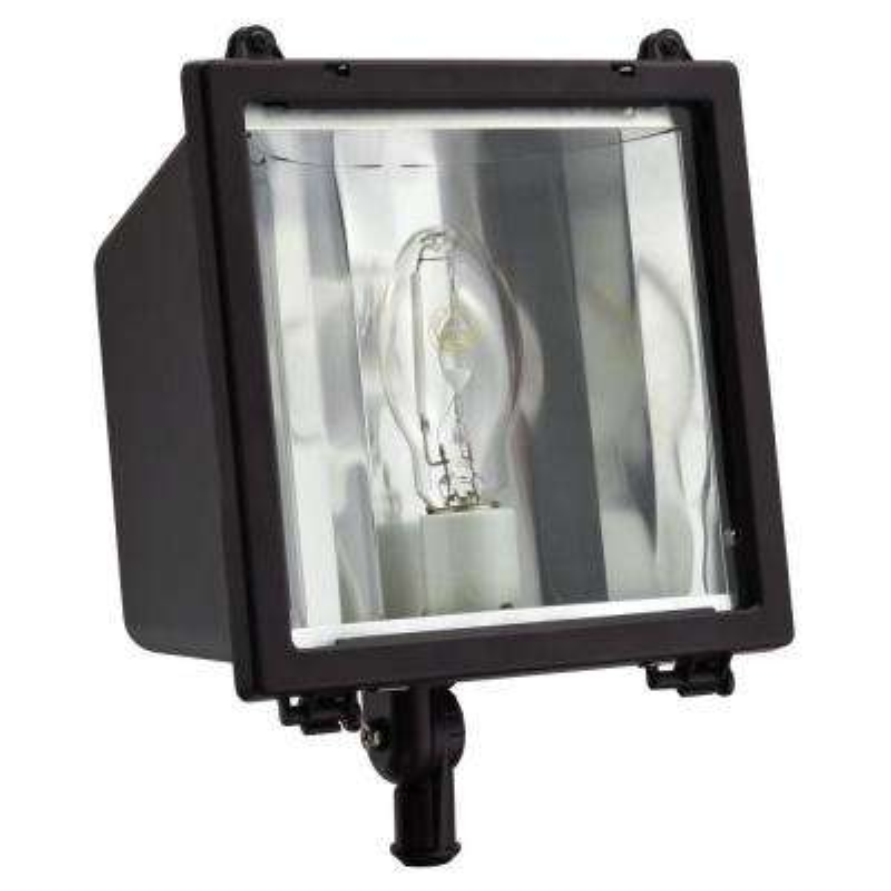 Outdoor Metal Halide Flood Light Adjustable Lamp Head Water Resistant 400-Watt