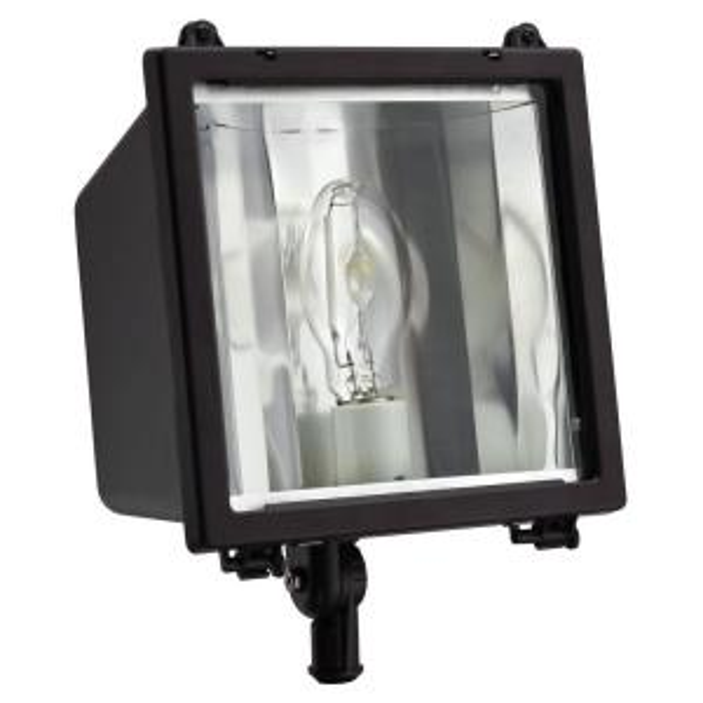 Lithonia Lighting Commercial Grade 150 Watt Bronze Outdoor Metal Halide Flood Light Oflc 150m Tb