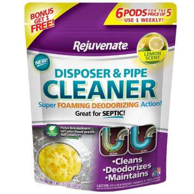 Lemon Scent Disposer and Pipe Cleaner (6-Pack)