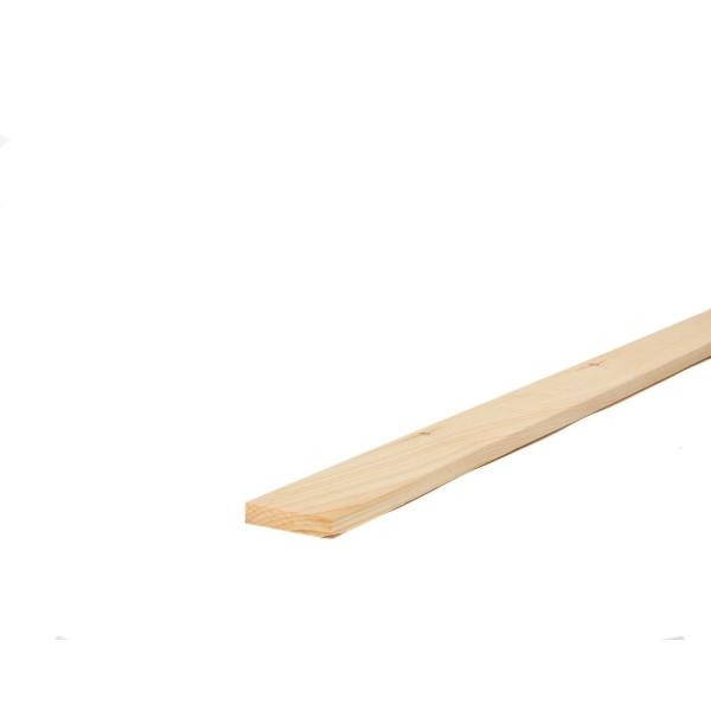 1 in. x 4 in. x 8 ft. Premium Kiln-Dried Square Edge Whitewood Common Board