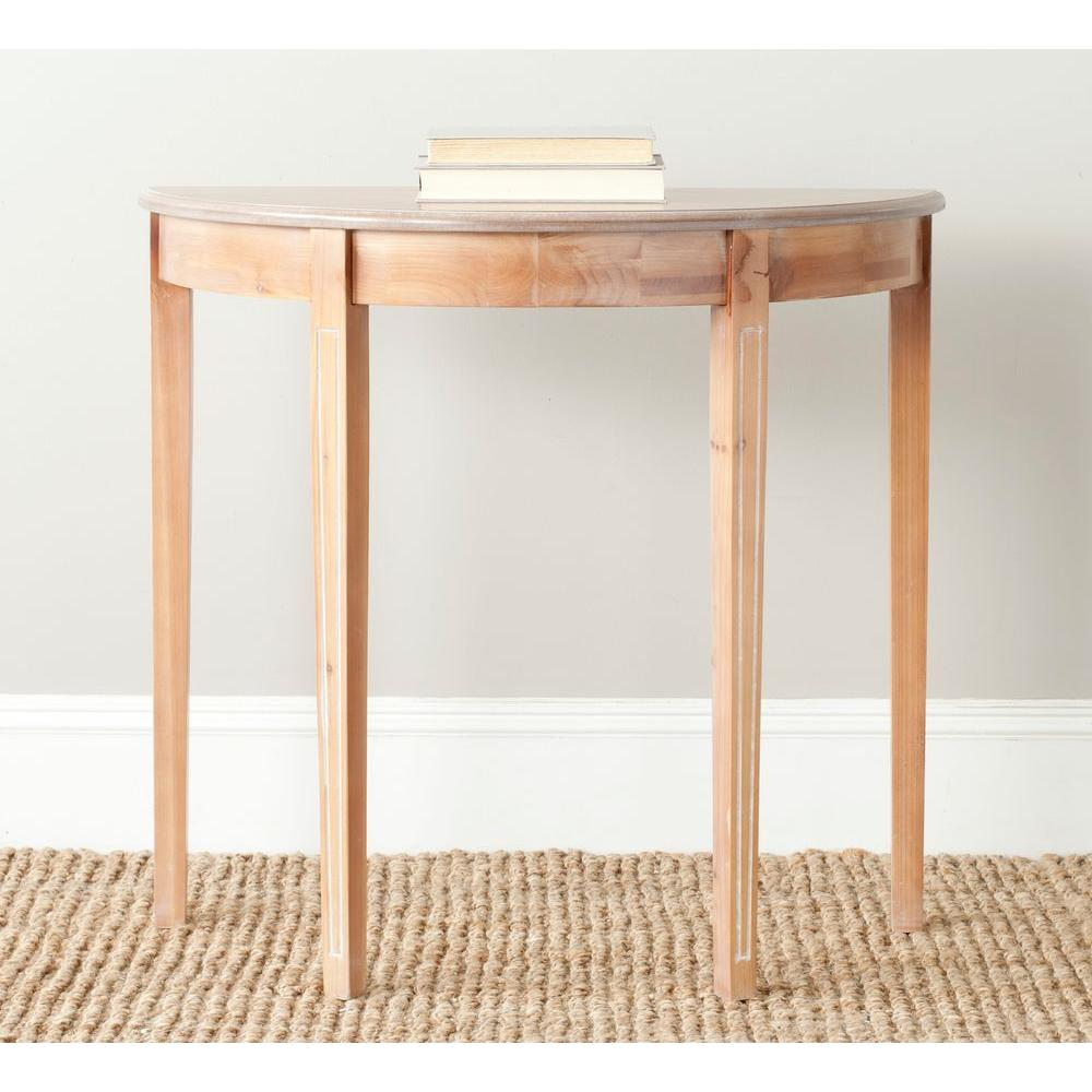 Safavieh Jethro Red Maple Console Table