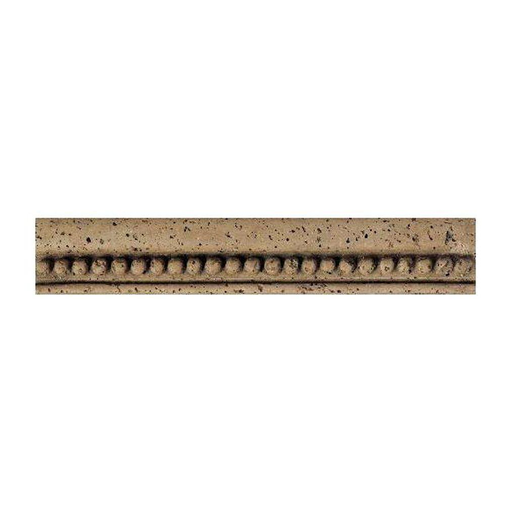 Daltile Fashion Accents Noce Bead 2 1/4 In. X 13 In.