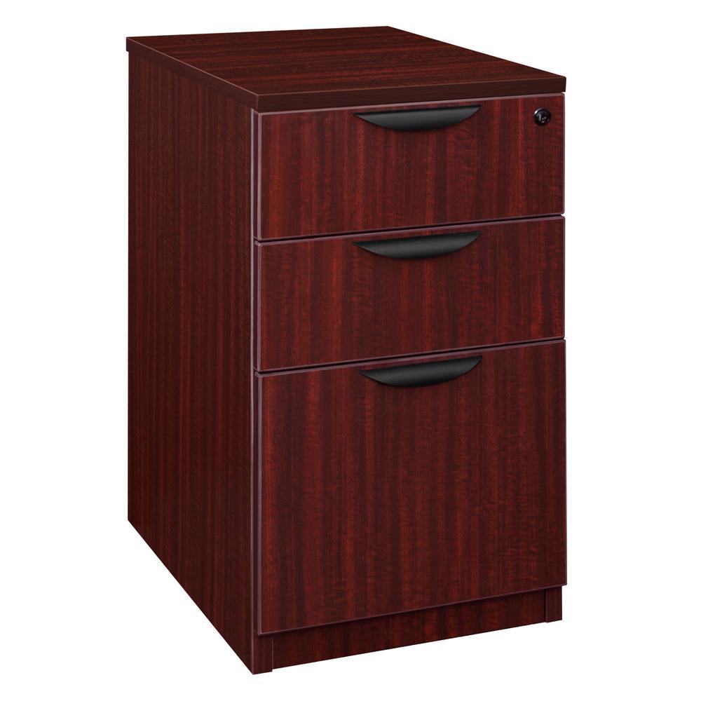 Legacy Mahogany Deskside Box Box File Cabinet