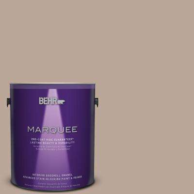 1 gal. #MQ2-37 Eiffel For You Eggshell Enamel One-Coat Hide Interior Paint and Primer in One