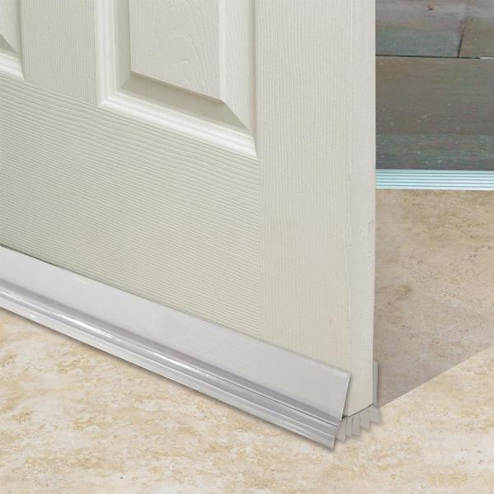 "NEW! FROST KING Draft Stop  Stopper Window And Door Seal Beige Cloth 36"""