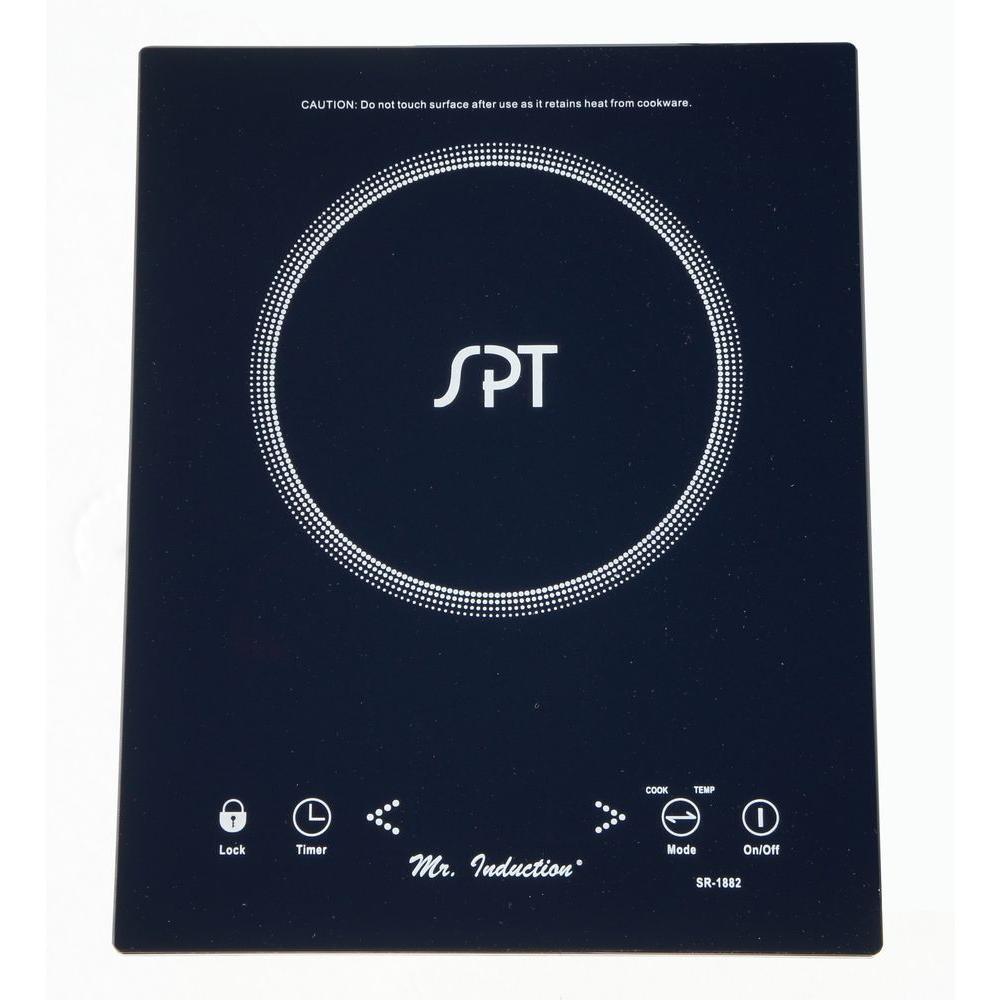 1650 Watt Countertop/Built-In Induction Cooktop in Black with 1 Element