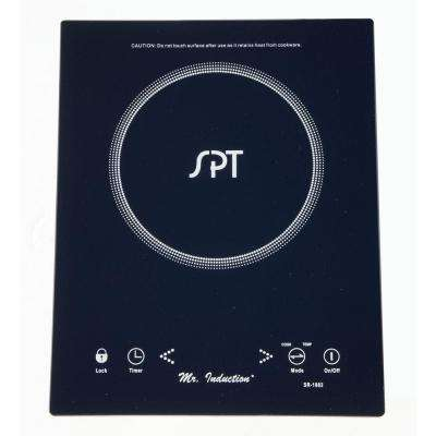 1650 Watt Countertop/Built-In Induction Cooktop in Black with 1 Element