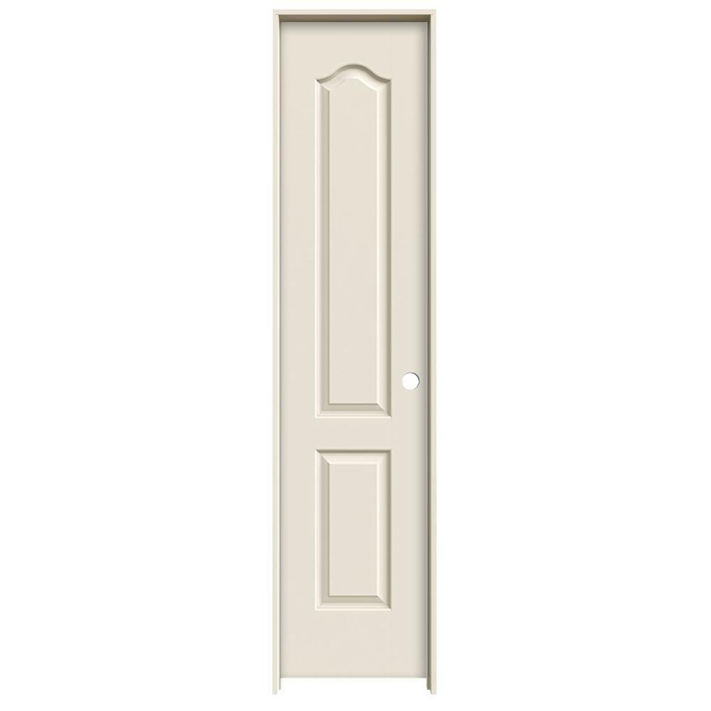 18 in x 80 in princeton primed left hand smooth solid for Solid core mdf interior doors
