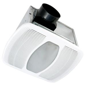 Air King Quiet 100 Cfm 2 0 Sones Ceiling Bathroom Exhaust Fan With 6 Watt Led Light Energy Star