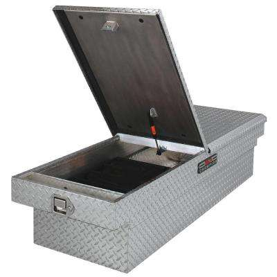 21 in. Aluminum Mid Lid Full Size Crossover Tool Box with Gear-Lock