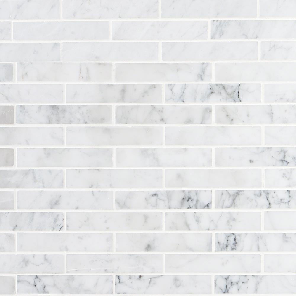 Ivy Hill Tile Brick White Carrera
