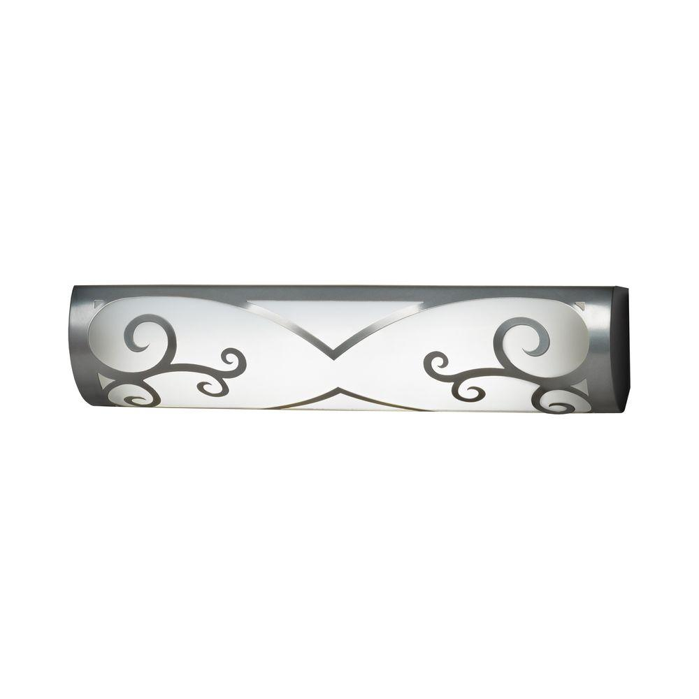 Filament Design Designer 24 in. Wall Satin Pewter Bathbar
