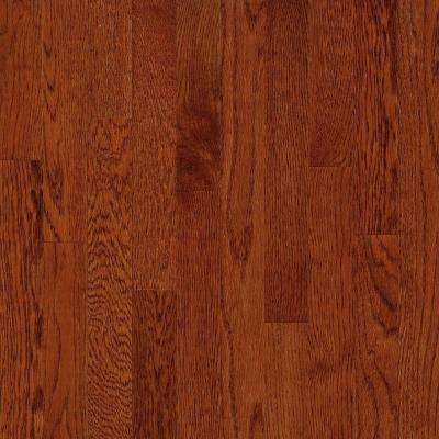 American Originals Ginger Snap Oak 3/8 in. T x 3 in. W x Varying L Click Lock Engineered Hardwood Flooring (22 sq.ft.)