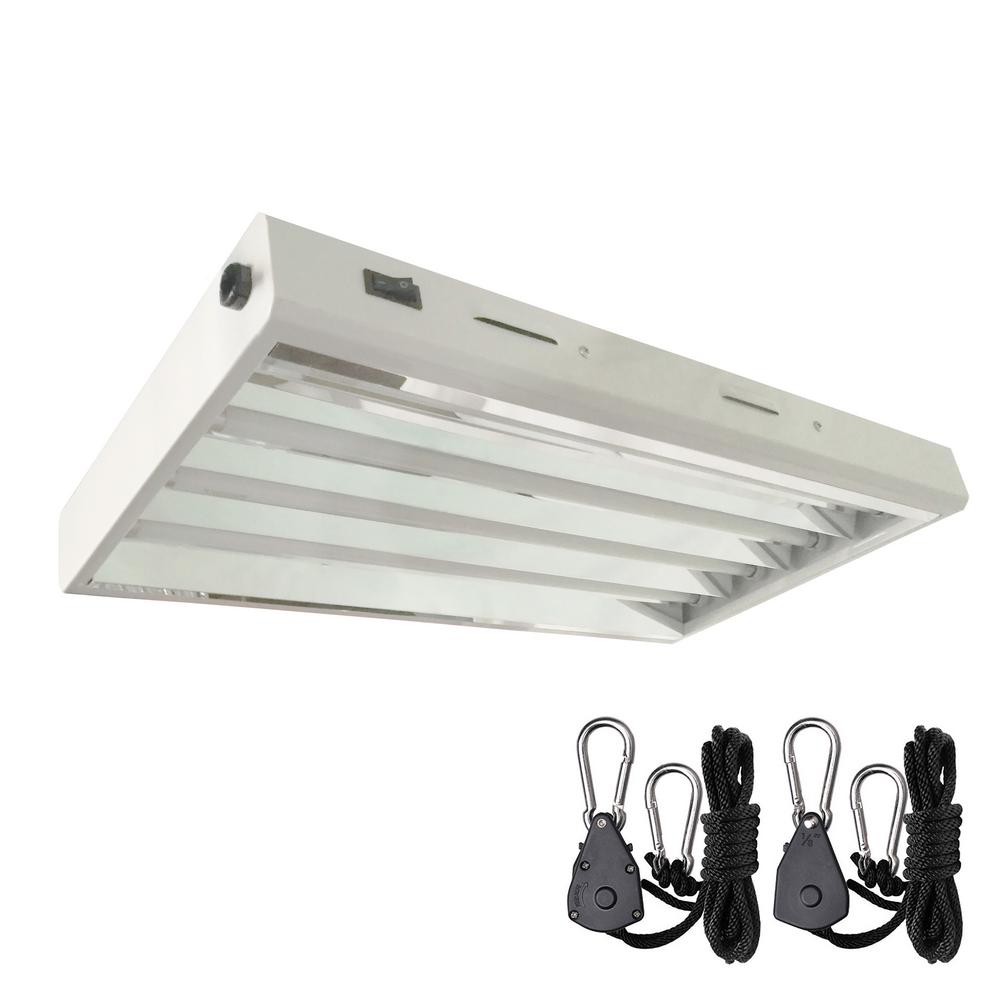 Grow Light Fixture Wiring Wire Center Fixtures In Series Multiple Fluorescent Lighting The Home Depot Rh Homedepot Com Install A Multi