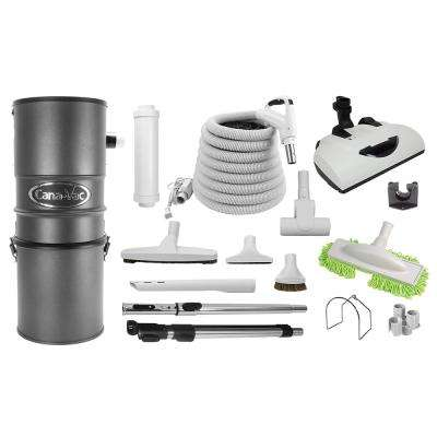 Premium Central Vacuum Package Ideal for Small to Large Size Homes