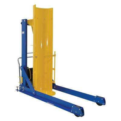 72 in. 1,000 lb. Capacity Portable Hydraulic Drum Dumpers