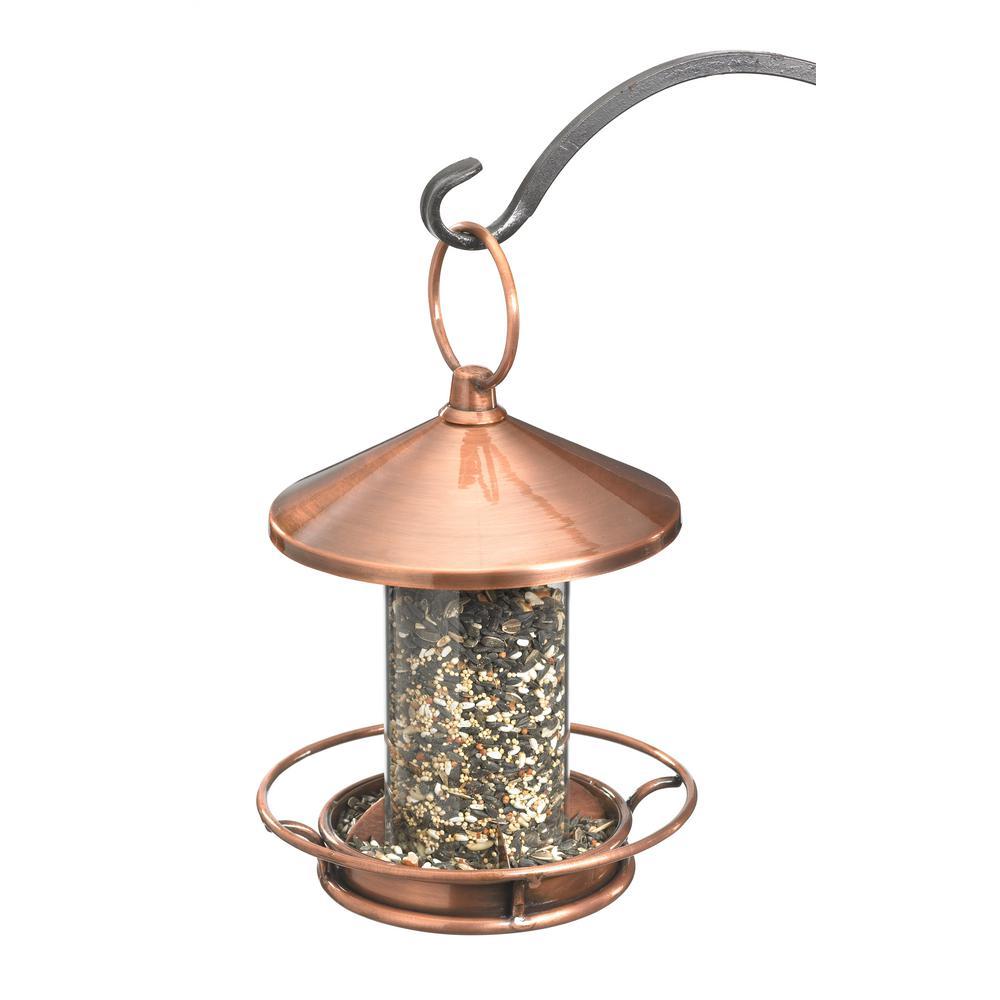 Copper Classic Perch Bird Feeder