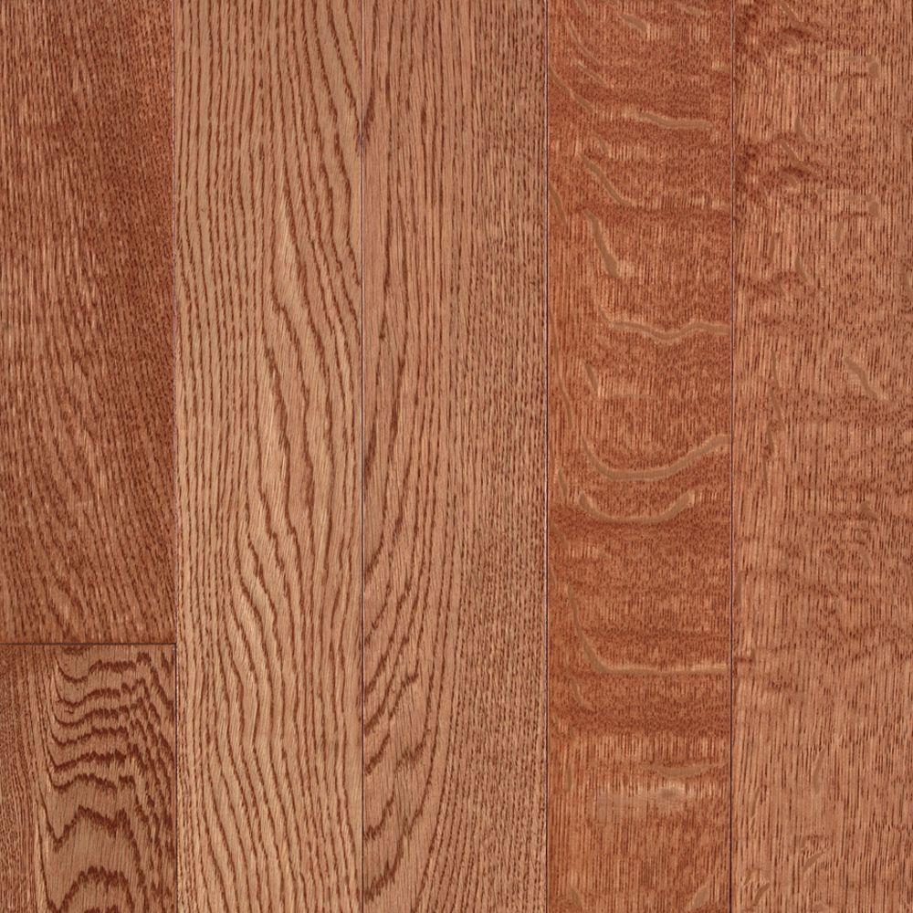 Bruce Abbington Butterscotch Premium White Oak Solid Hardwood Flooring - 5 in. x 7 in. Take Home Sample