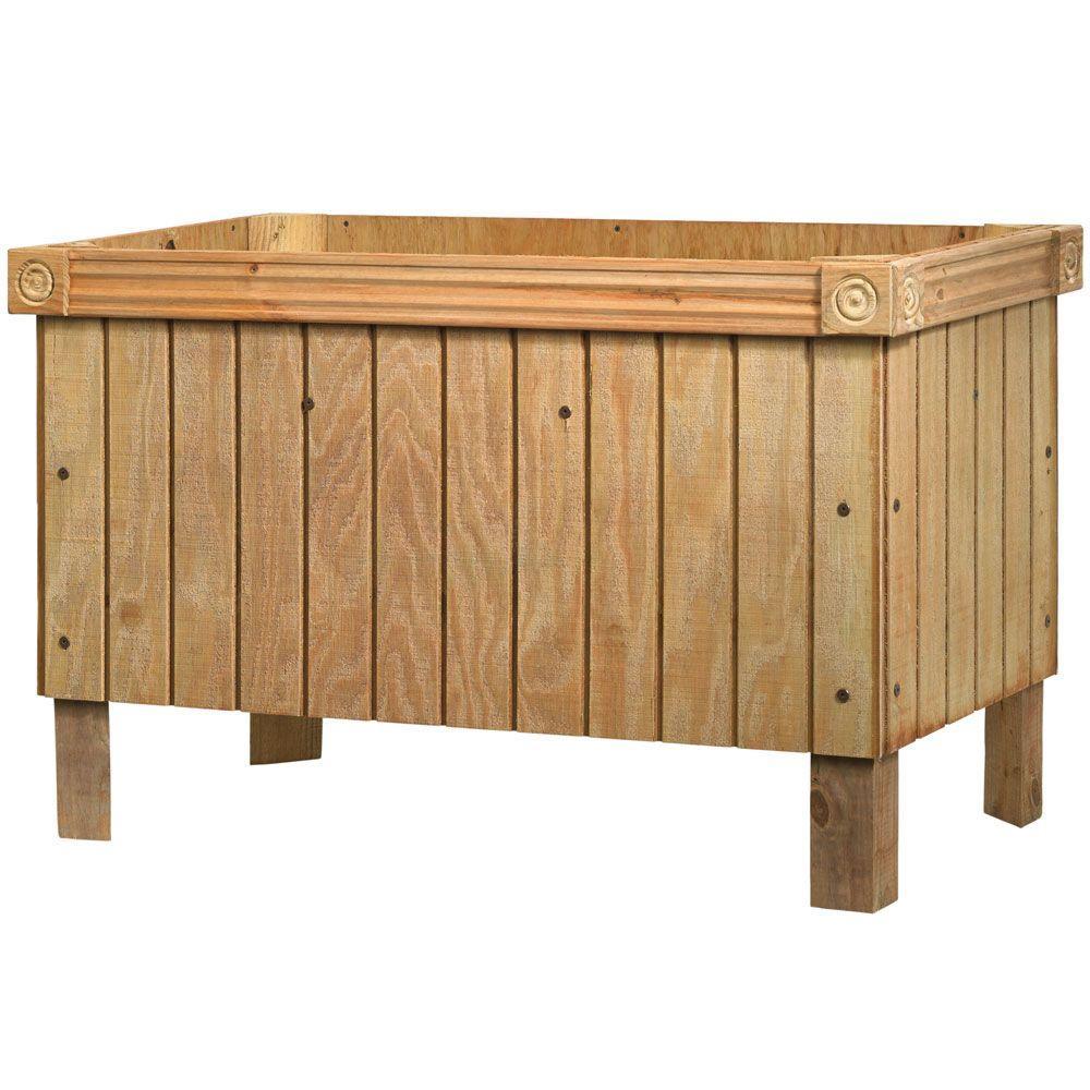 Outdoor Essentials 24 in. x 48 in. Elevated Garden Bed