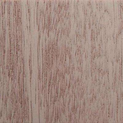 3 in. x 6 in. Garage Door Composite Material Sample in Mahogany Species Primed