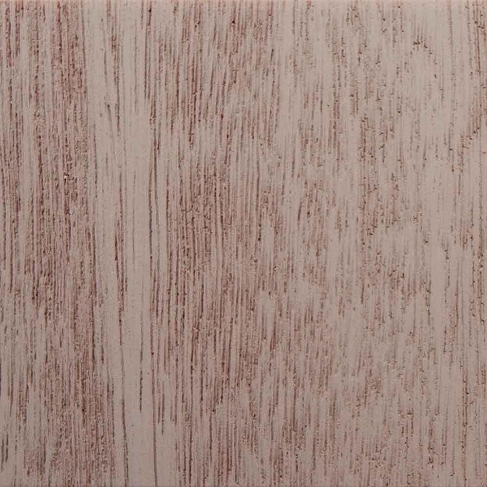 3 in. x 6 in. Garage Door Composite Material Sample in Mahogany Species Primed